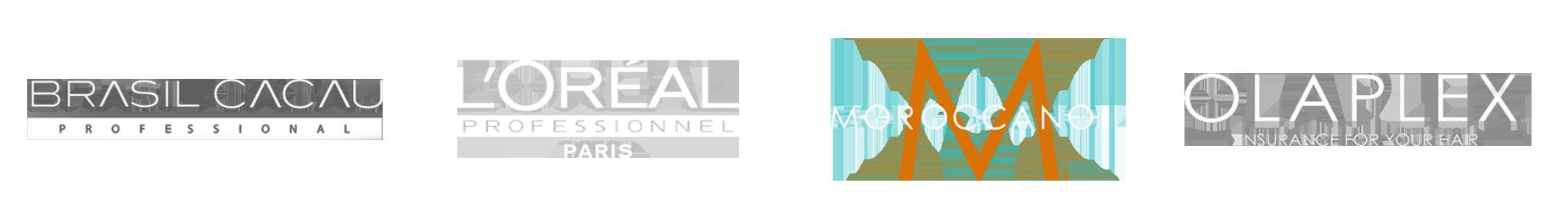 Brands: Brasil Cacau, L'oreal, Moroccanoil, Olaplex