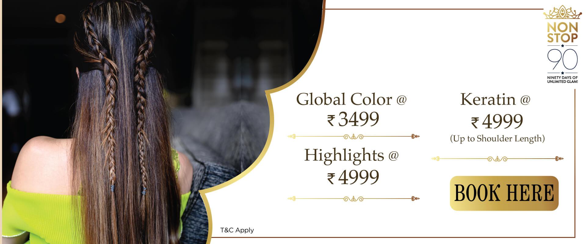 Offers on Hair Color @ Biguine India