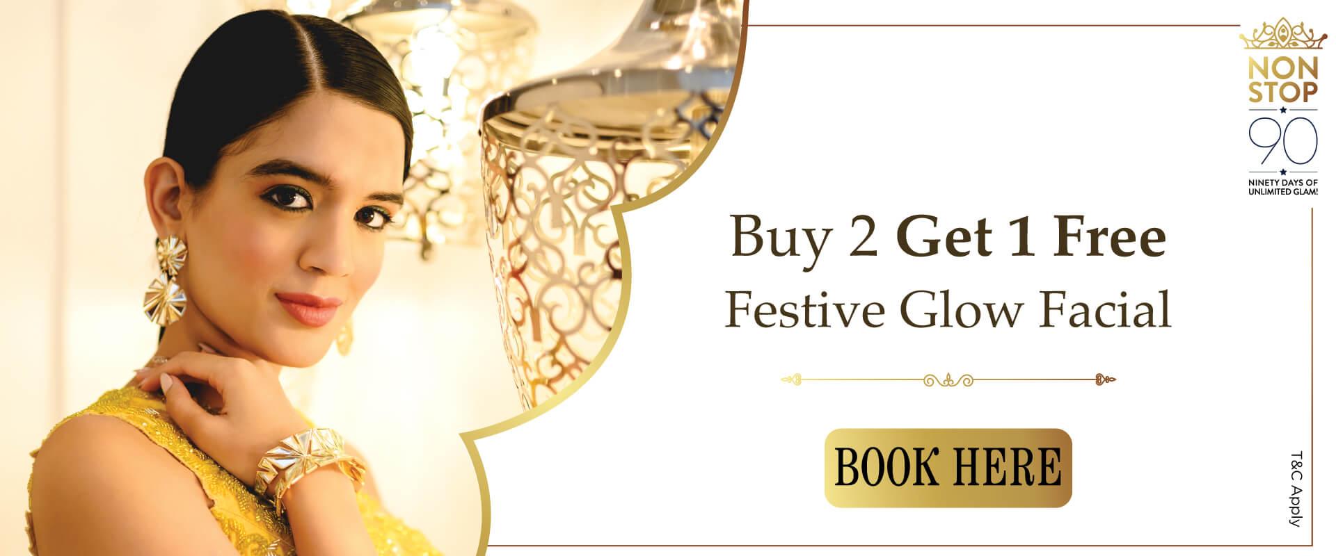 Festive Glow Facial @ Biguine India